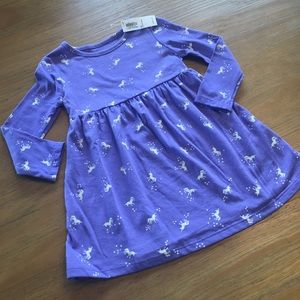 Old Navy Purple Unicorn Dress